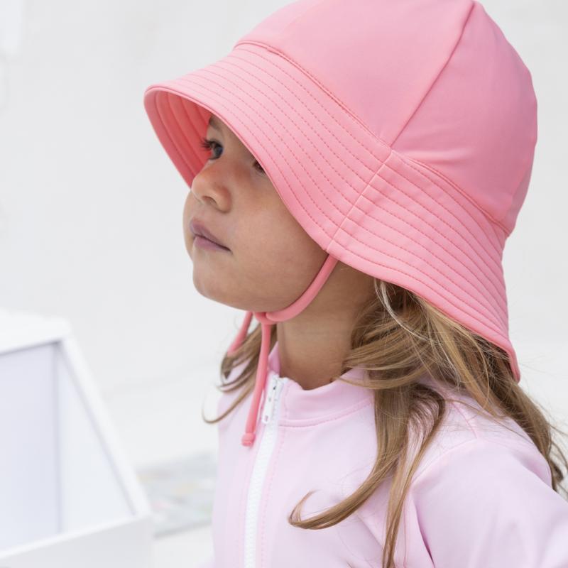 Image of Petit Crabe Frey UV hat - watermelon (942099)