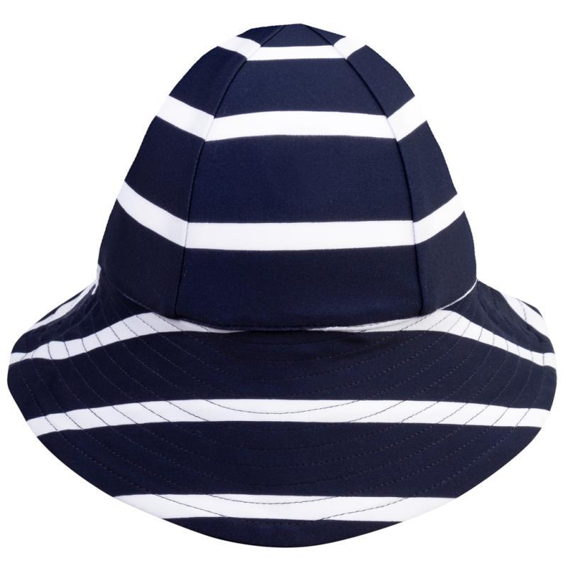 Image of Petit Crabe Frey UV hat - blue/white (655951)