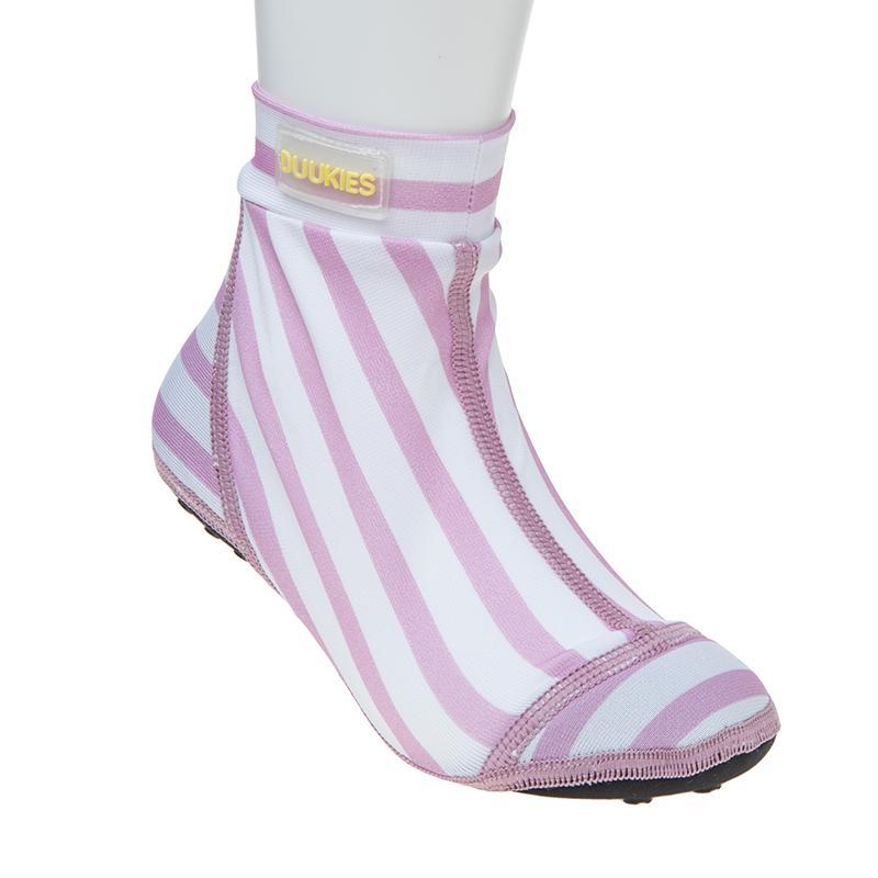 Image of Duukies beachsock - pink stripes (1489440)
