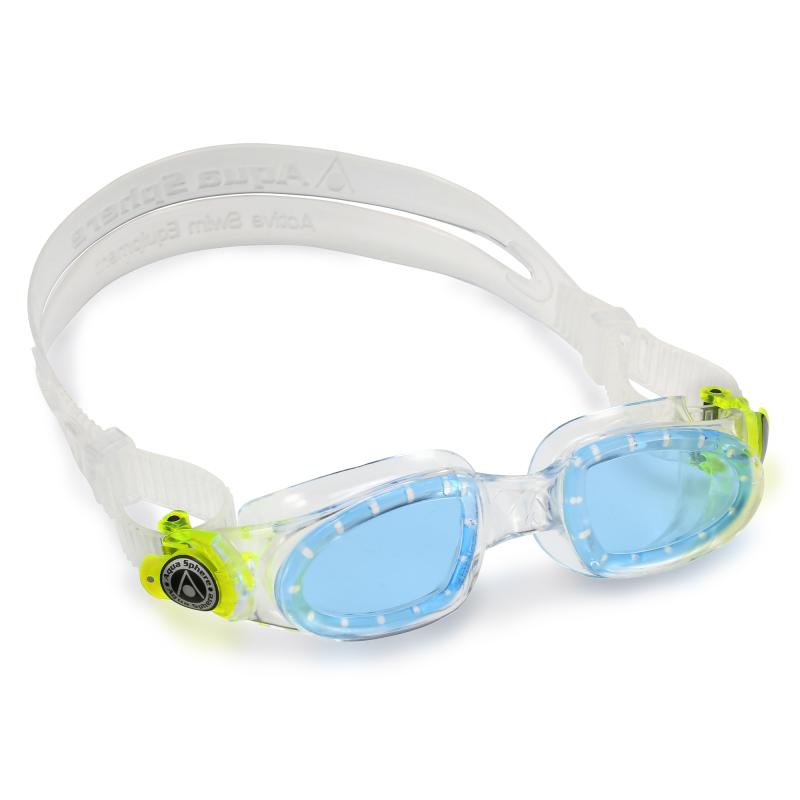 Image of Aqua Sphere 2-8 år moby kid clear/lime (874069)