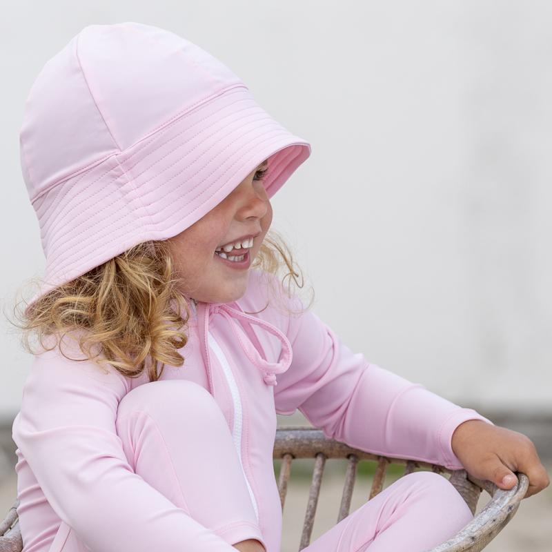Image of Petit Crabe Frey UV hat - Blush (1995147)