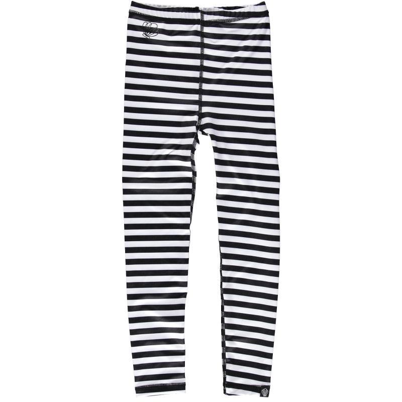 Image of Beach & Bandits leggings sort-hvid UPF 50+ (2017892)