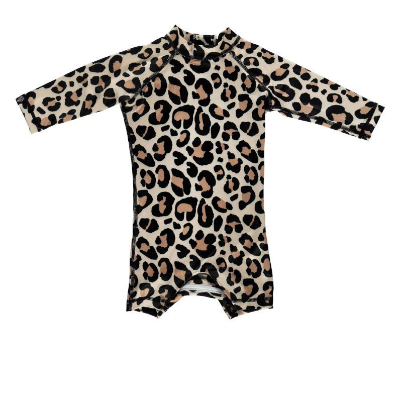 Image of Beach & Bandits baby suit med lange ærmer UPF 50+ - Leopard shark (2018449)