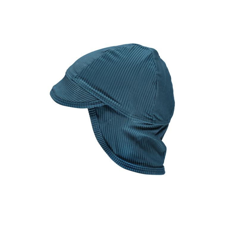 Image of Beach & Bandits UV-hat UPF 50+ - ocean ribbed pacific blue (2019012)