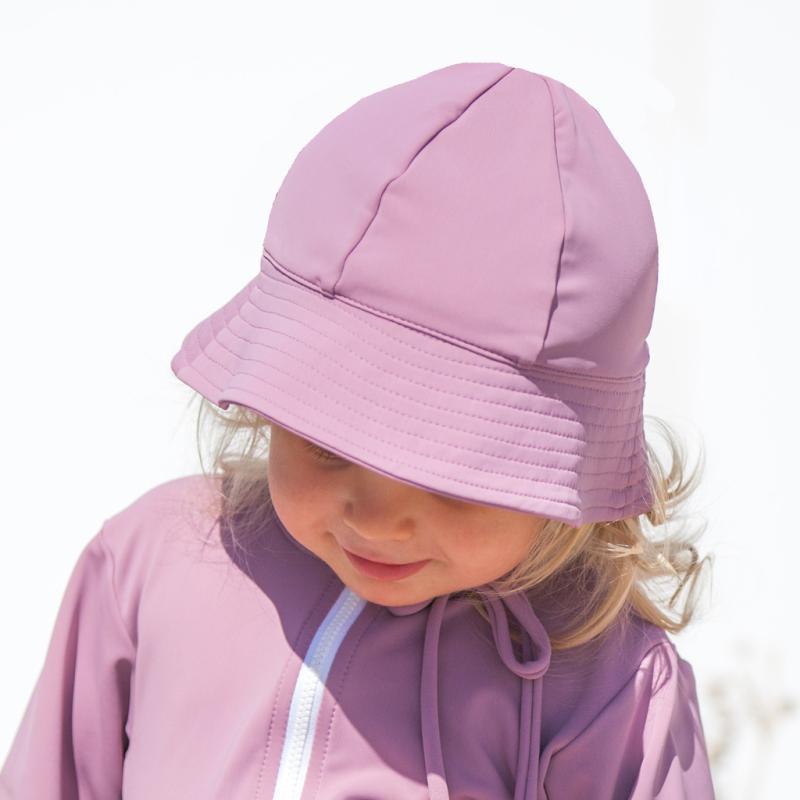 Image of Petit Crabe Frey UV hat - heather (2226041)